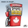 Today's cartoon: Gas prices